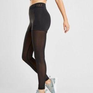 NWT Nike Pro Deluxe Training Tights Leggings Mesh